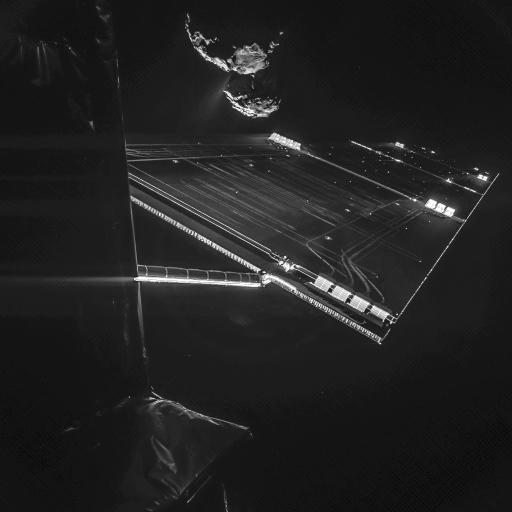 Rosetta's Selfie Image Credit: ESA/Rosetta/Philae/CIVA