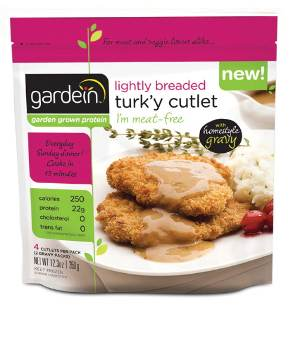 Turk'y cutlet by Gardein
