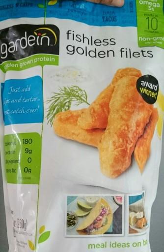 Gardein golden fishless filet
