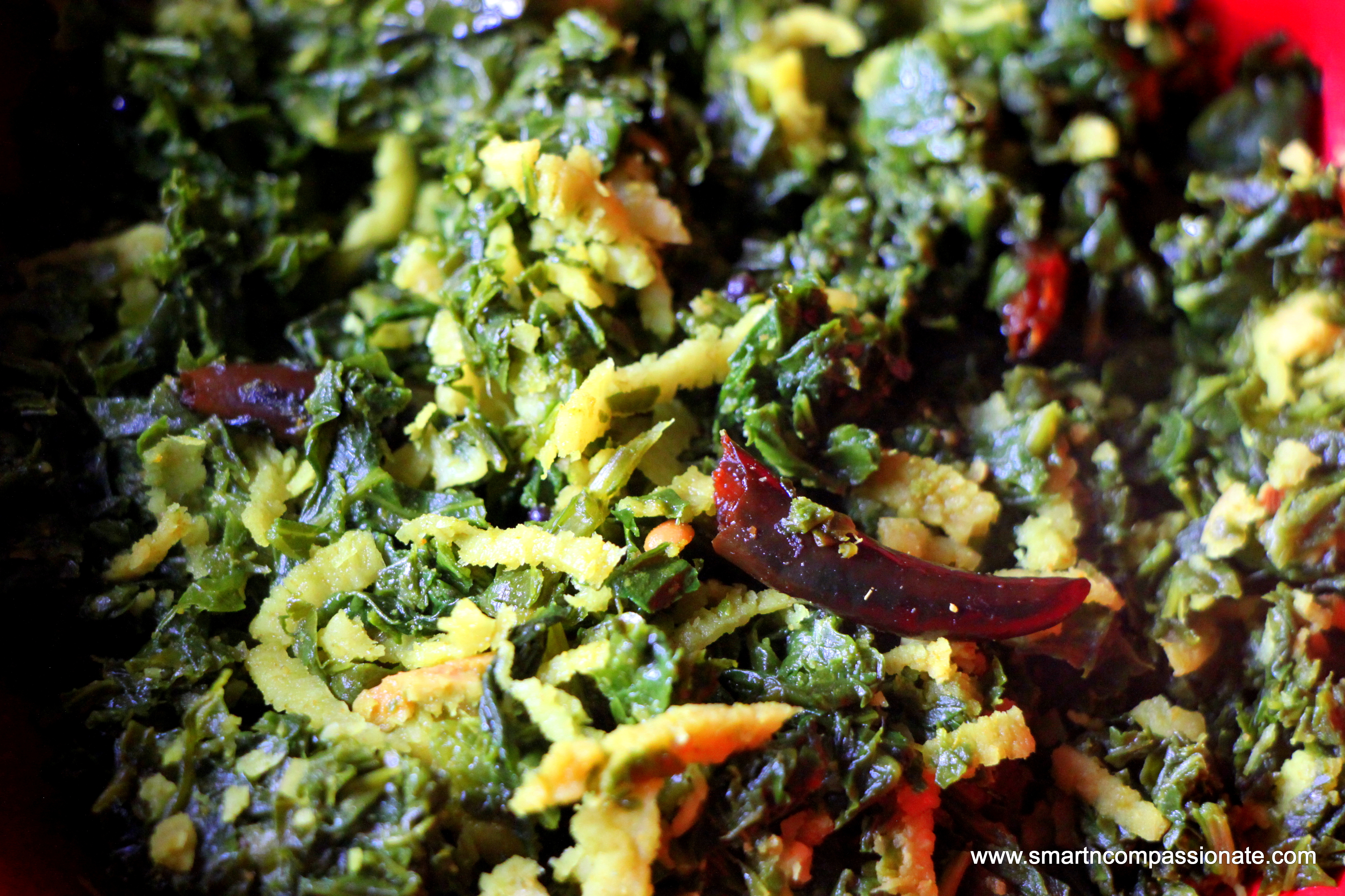 Easy Kale and Coconut Stir Fry (Thoran)