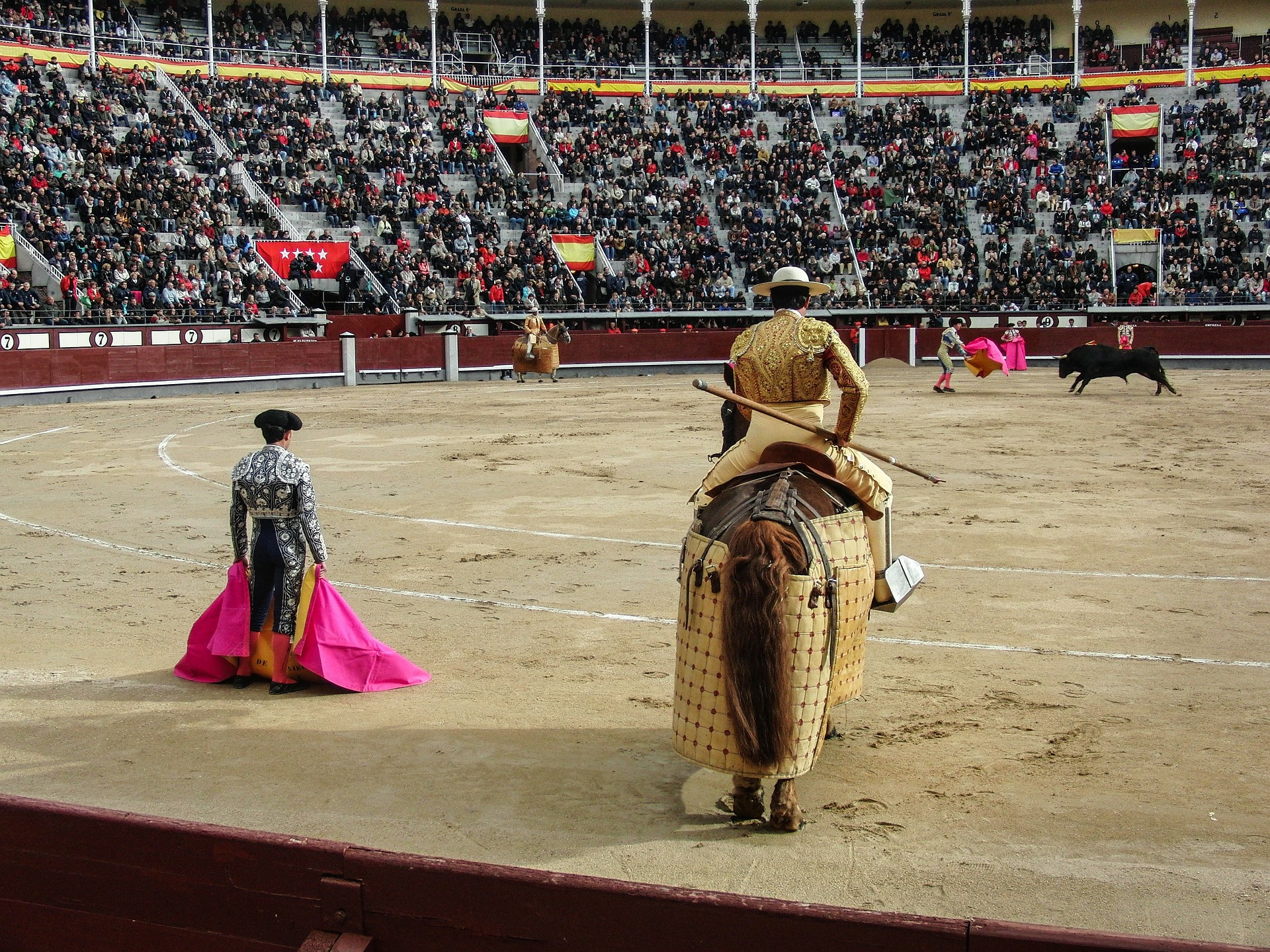 Bullfighting should be a thing of the past